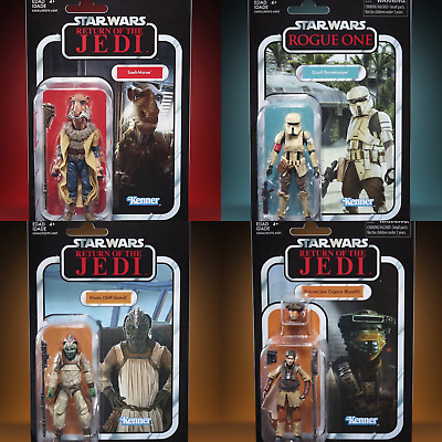 "Star Wars The Vintage Collection (3.75"") Wave 1 Set of 4 Action Figures (2019)"