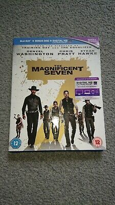 The Magnificent 7 (2016) 2 disc blu ray