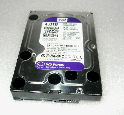 Western Digital WD Purple WD40PURX 3.5inch 4 TB 5400rpm Internal Hard Drive