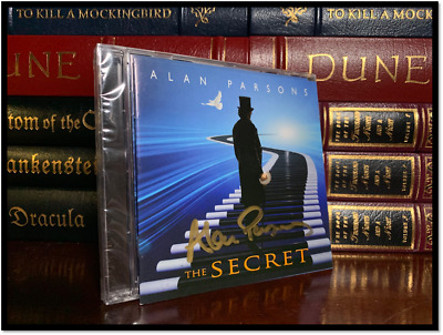The Secret ✎SIGNED♫ by ALAN PARSONS Brand New Sealed CD with Autographed Booklet