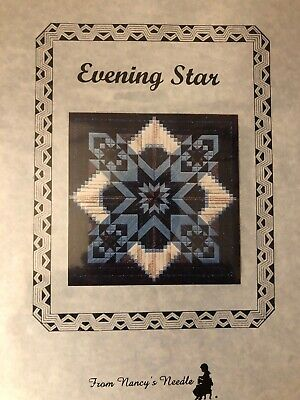 From Nancy's Needle Evening Star Counted Needlepoint Kit