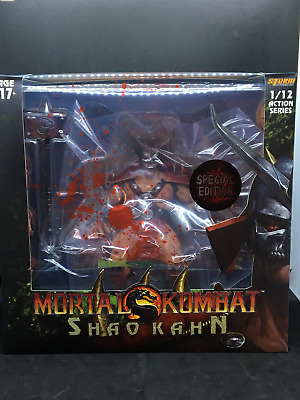 STORM COLLECTIBLES Mortal Kombat: Shao Kahn Bloody Edition