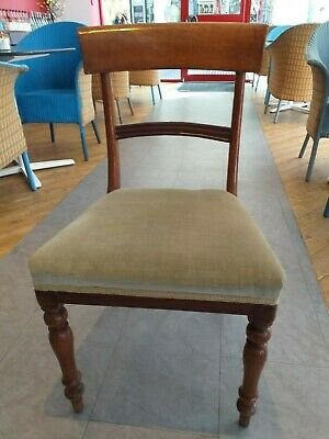 ENGLISH mahogany REGENCY WILLIAM IV ANTIQUE quality chair circa 1835  / 19th c.