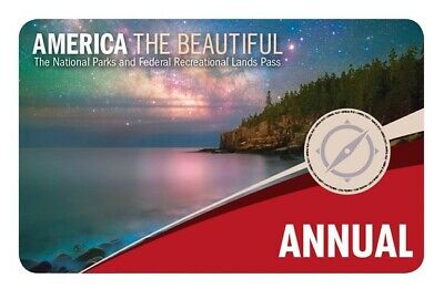 National Parks Annual Pass America the Beautiful NPS expires May 2020