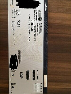 Rock am Ring 2019 General Ticket (Camping & Parking Ticket),