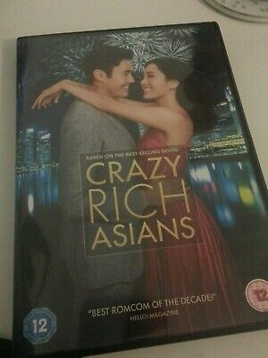 Crazy Rich Asians - 2019 Uk Dvd Played Once !
