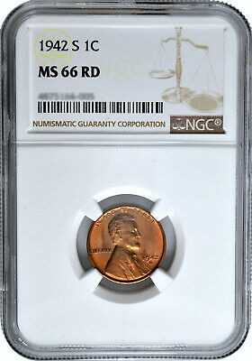 1942 P Lincoln Cent Uncirculated in Sealed Package