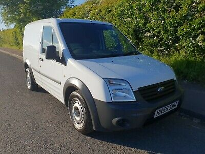 2009 (59) Ford Transit Connect 75 T200 1.8 Tdci Diesel In White * 56,000 Miles *