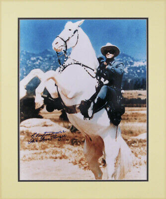"Clayton ""The Lone Ranger"" Moore - Autographed Signed Photograph"
