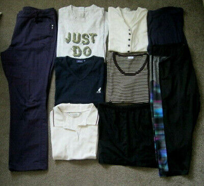 Ladies Summer Casual Bundle,9 Items,Size 18, 5 Tops,Trousers.2 joggers,Shorts.