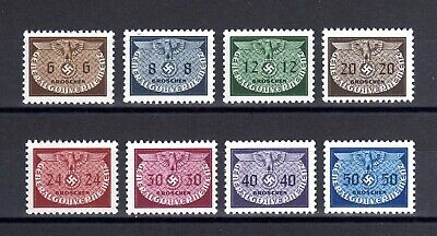 GERMAN EMPIRE-POLAND Occupation.1940.Generalgouvernement.FULL set MNH Mi 16-24.