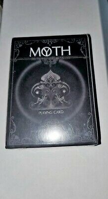Black Moth Playing Cards Misdirection Mystery Ultra Rare Sealed Only 1000 made