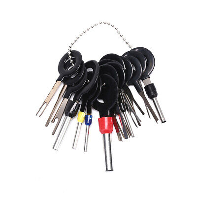 18X Wire Terminal Removal Tool Car Electrical Wiring Crimp Connector Pin Kit Fad