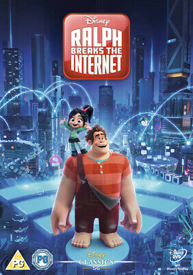 Ralph Breaks the Internet DVD (2019) Rich Moore cert PG FREE Shipping, Save £s