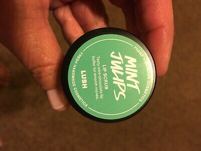 NEW Lush Mint Julips Lip Scrub