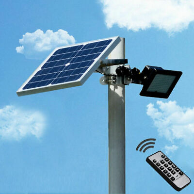 50W high brightnes night sensor Solar floodlight Light Outdoor Garden Spotlights