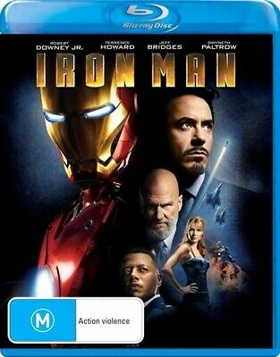 Iron Man, Blu-ray