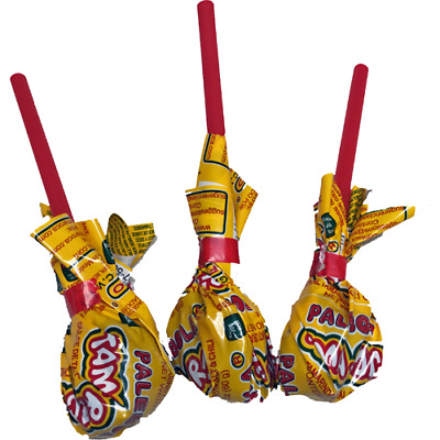 PALETAS (LOLLIPOPS) TAMA ROCA Natural Tamarind 16-ct MEXICAN CANDY