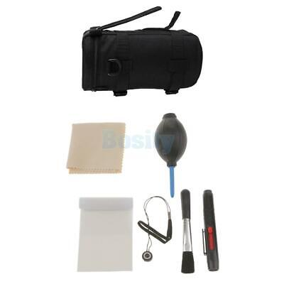 Professional Lens Cleaning kit + Lens Pouch Bag for Canon DSLR Camera