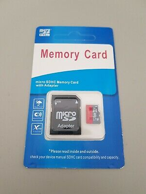 Great Value! 128GB Micro SD Card and Adapter, Class 10 (10MB/s) UK Seller!