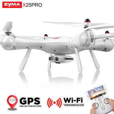 SYMA X25PRO RC Quadcopter Drone FPV Real Time GPS Follow Me Selfie 720P VR Gift