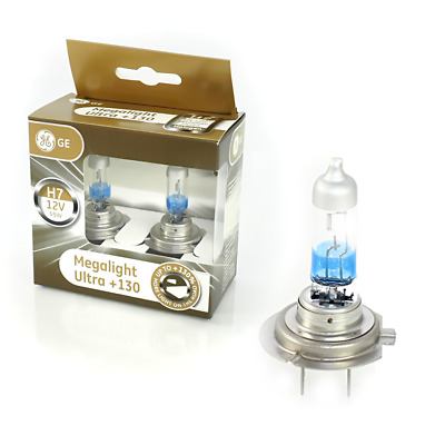 GE General Electric H7 MegaLight Ultra +130% 2er Set 58520XNU