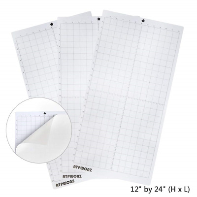OFNMY 3Pcs Standardgrip Silhouette Cutting Mat, 12'' X 24'' Replacement Cameo