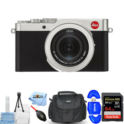 Leica D-Lux 7 Digital Camera 19116 STARTER 64GB BUNDLE