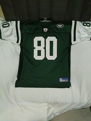 4a755471af4 ELIZABETH 12 NEW York Jets NFL White Reebok Jersey Adult X-Large XL ...