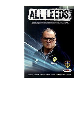 PROGRAMME - LEEDS UNITED v DERBY COUNTY - PLAY-OFF - 15 MAY 2019
