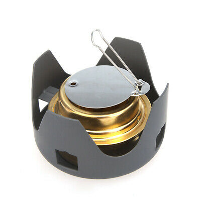 Lixada Portable Stainless Steel Lightweight Wood Stove Outdoor Cooking R1O2