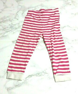 MOTHERCARE Baby GIRLS PYJAMA BOTTOMS Age 9-12 Months Pink Stripe
