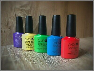 CND SHELLAC UV Nail Polish, Colours, Top and Base Coat, DURAFORCE, XPRESS5 7.3ml