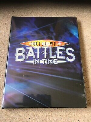 BIT Battles In Time Doctor Who binder Full Set Exterminator Psychic Paper