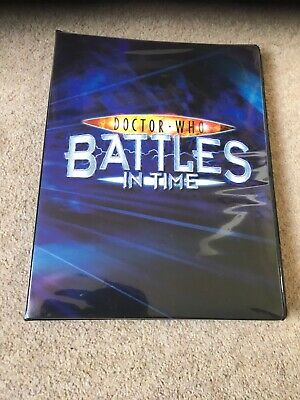 BIT Battles In Time Doctor Who binder Part Set Ultimate Monsters