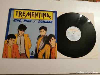 TREMENTINA Ring ring / Dominar MAXI SINGLE VINILO JOSE MARIA CANO MECANO MOVIDA