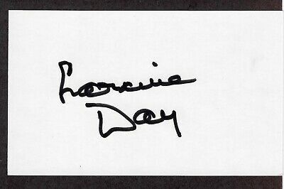 Lorraine Day Signed Autographed Index Card - Melchior Collection