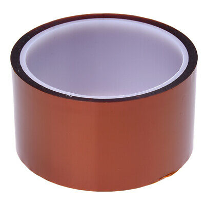 2X(50mm 33m 100ft Tape High Temperature Heat Resistant Polyimide C1I6)
