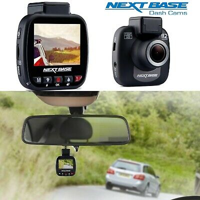 Nextbase Dash Cam 112 Dashboard Camera Recorder 720p Compact Powered Mount New