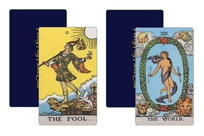 22 Tarot Trumps -- cf. Waite-Smith à la Wm. Rider & Son -- aMAYzing Spring Sale!