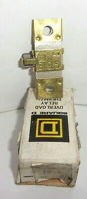 Square D B19.5  Overload Relay Thermal Unit Heater B19 5  New In Box