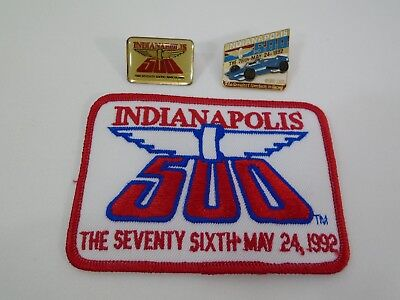 Indianapolis Indy 500 NOS Event Logo Patch INDY FANFEST Very Rare Patch