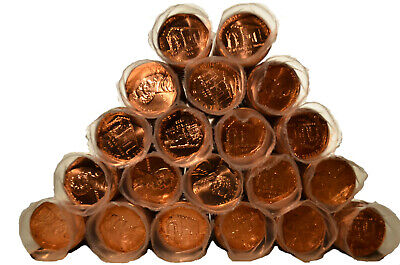 Twenty 1C BU 2009-P Log Cabin Lincoln Cent Rolls - Ships Free!