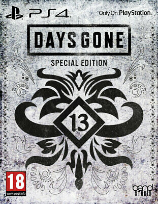 Days Gone Special Steelbook Edition New and sealed