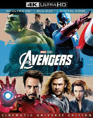 New: Marvel's THE AVENGERS (2-Disc) 4K Ultra HD + Blu-ray + Digital HD