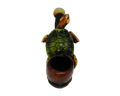 Sea Turtle Handmade Tobacco Smoking Mini Hand Pipe Cute Sea Animal Ocean Beach