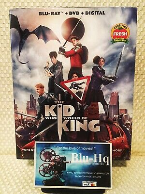 The Kid Who Would Be King ⚔️(Blu-ray+DVD+Digital) Brand New 🚛 FREE SHIPPING ❗️