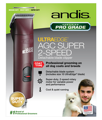 Andis AGC2 ProClip AGC Super 2-Speed Clipper Professional Grooming All Dogs