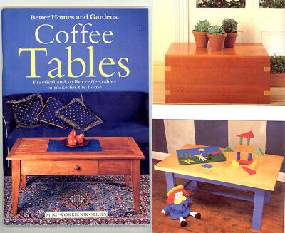 Diy Woodworking Book - Make Practical & Stylish Coffee Tables