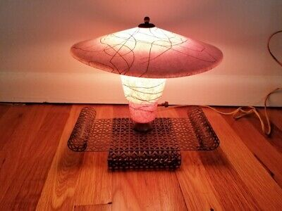 Authentic 1950's 1960's Era, Retro, Mid Century Modern, TV Lamp